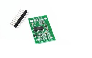 2pcs Dual Channel HX711 Sensor de presión de pesaje 24 bits de precisión A / D Module