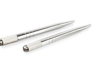 ماكياج الحواجب الدائم microblading القلم آلة الوشم 3d دليل doule رئيس القلم حرية الملاحة
