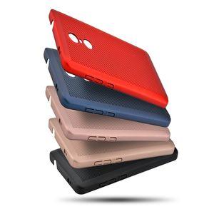 Pour iphone x / 8 cas de téléphone de dissipation thermique de conception de maille pour iphone 8 plus / 7/7 plus / 6/6 plus
