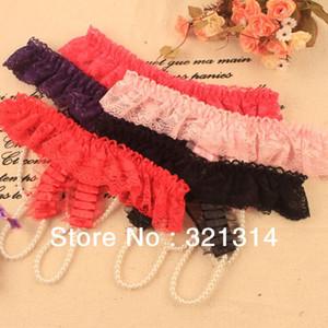 w1025 Sex Women Lace lace underwear G Strings Lingerie، Briefs، جنسي ثونغ اللباس الداخلي سلسلة من اللؤلؤ