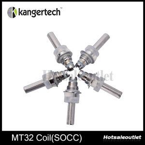 Kanger Coil Unit MT32 Coil SOCC Bobinas Con Janpanese Organic Cotton Wick 100% Auténtica Nueva Llegada