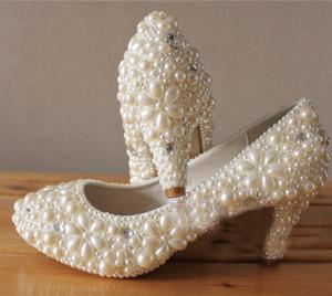 Матч ваш вечерний юбилей партии наряд платье обувь удивительные свадебные туфли круглый носок горный хрусталь для женщины праздник выпускного вечера
