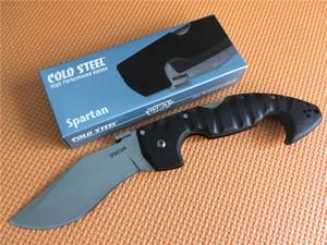 En iyi fiyat! Soğuk Steel bıçaklar Spartan Katlama Bıçak 440C Blade Grivory Kol Yüksek Kalite Kamp Av Survival Katlama bıçak
