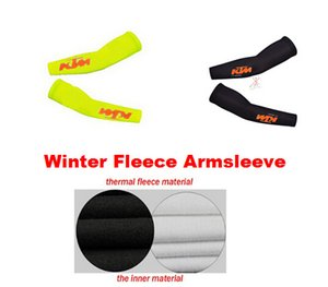 2020 scalda KTM invernale in pile termico ciclismo Armsleeve Ciclismo MTB Arm M4