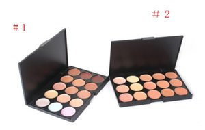 Professionale 15 colori Concealer Foundation Contour Face Cream Makeup Palette Pro Tool per Salon Party Wedding Daily
