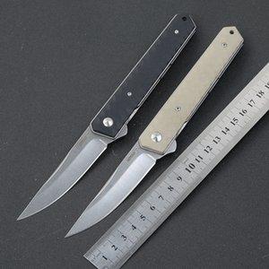مربع جديد kwaiken كروي زعنفة الطي vg10 بليد g10 الصلب مقبض التخييم هانت edc أداة سكين مطبخ