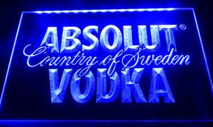 LS032 Absolut Vodka Страна Швеция Пиво Неон Бар Light Вход