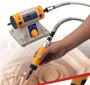 Nuovi strumenti Scalpello elettrico cesello intaglio del legno macchina per incidere Macchine AC220v