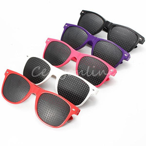5 цветов Улучшитель зрения против усталости Vision Care Стенопические очки-обскуры Очки рядом с коротким прицелом Здоровье $ 18no track