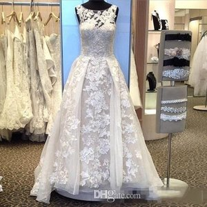 2018 New Designer Top Quality Long wedding dresses Ball Gown gorgeous and A Line wedding gowns