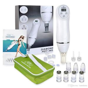 Microdermabrasión Diamond Peeling Beauty Machine Eliminación de espinillas Skin Peel Diamond Dermabrasion Limpieza de poros para uso en el hogar