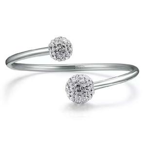925 Sterling Silber Artikel Schmuck Kleinkram Shambhala Armbänder Armreif Hochzeit Vintage offenen Design Unendlichkeit Charme