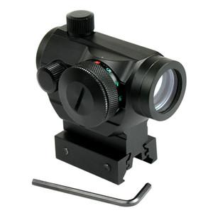 Tactical Reflex 레드 그린 도트 시야 범위 듀얼 고 / 로우 프로파일 레일 장착