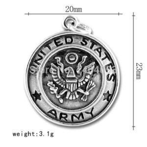 Sıcak Satış Çinko Alaşım Amerika Birleşik Devletleri Ordusu Disk Charm charm sap charm snoopy charm snoopy