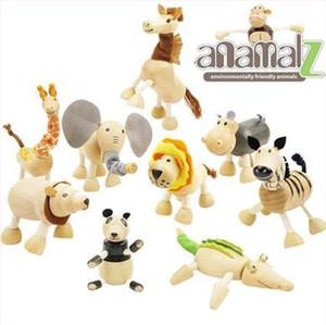 Bebek Hareketli Akçaağaç Ahşap Hayvanlar Oyuncaklar Avustralya Ahşap El Yapımı Çiftlik 24 Hayvanlar Oyuncaklar Bebek Eğitici Ahşap Oyuncaklar