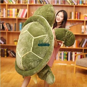 Dorimytrader großes Tier Schildkröte Plüschtier riesige Karikatur Schildkröte Kissen Sofa Tatami Weihnachtsgeschenk Dekoration DY61833