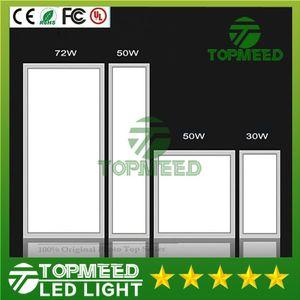 CE RoHS Led panel ışık 300 * 300mm 600 * 300mm 600 * 600mm 300 * 1200mm 20 W 30 W 50 W 72 W Led gömme tavan armatürleri Hi-Parlak Lamba 22