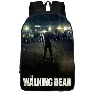 Неган рюкзак Ходячие мертвецы рюкзак бейсбольной битой человек школьный Teleplay рюкзак Спорт мешок школы Открытый день пакет
