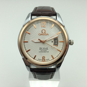 Klassische Herren und Damenkleider Berühmte Uhren beiläufige Art und Weise Leder-Männer Quarz-Uhren Relogio Großhandel