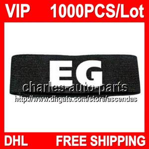 Черный EG VIP цена 100% новый высокое качество 1000 шт. / лот VIP1208 Мужские браслеты sweatbands браслет sweatbands 100% завод onlie store! новый