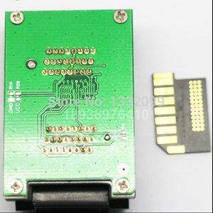Test Küçük SD DIP48 Büyük Nokta / Çevirme Probe Test Soketi Koltuk Adaptörü / Telefon Kart Kart Çip SD Gold CPOBG