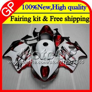 Carrozzeria per SUZUKI Hayabusa GSXR1300 96 07 1996 1997 1998 41GP32 GSXR 1300 GSXR-1300 rosso bianco GSX R1300 1999 2000 2001 Carenatura del motociclo
