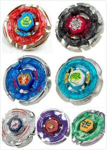 1 unids Beyblade Metal Fusion 4D sin Launcher Beyblade Spinning Top regalo de Navidad para niños juguetes sin embalaje original