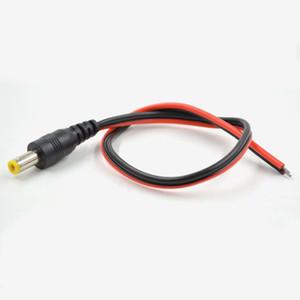 Câble d'alimentation CC de 12,5 mm avec connecteur mâle de 2,1 mm, câble d'alimentation CC avec terminal mâle