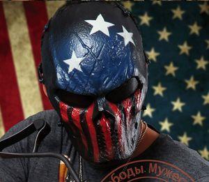 Camuflaje Horror Gost Skull Tactical Máscaras Al aire libre cara completa Airsoft Tactical Esqueleto Máscaras para Wargame Paintball CS M06