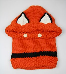THe Wool Knitted Cap Shawl Cap Use In Autumn Winter The Appearance Of The Fox Ears Baby Infant Children's Hats Heat In 2015