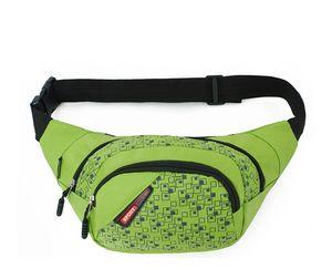 Fashion New Style Unisex Sport Pack Fanny Viaggi Zipper Marsupio per il tempo libero Running Hiking Ciclismo Running Fitness Medicine Bum Bags di piccole dimensioni