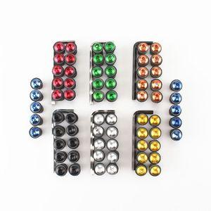 10X Accessori moto 5mm parabrezza parabrezza parafango bullone di fissaggio kit di fissaggio parabrezza carenatura dadi di montaggio