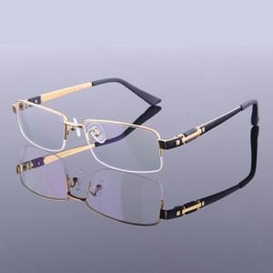 Montature per occhiali da vista in puro titanio di nuova moda Montature per montature a mezza montatura da vista M8001 Montature da vista per montature da vista di alta qualità