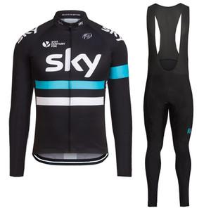 Jersey de ciclismo térmico de invierno 2016 y bibers de ciclismo Kits de manga larga ropa de ciclismo de invierno Ropa Ciclismo Envío gratis