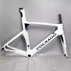 2017 цвет может выбор colnago концепция дорожный велосипед углеродная рама полный углеродного волокна дорожный велосипед рама 48/50/52/54/56 см T1000 углерода frameset CO1