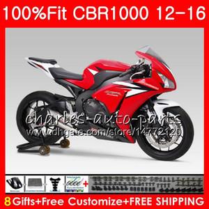 Впрыск для HONDA CBR1000 TOP красный черный RR CBR 1000 RR 12 16 88NO76 CBR 1000RR 12 13 14 15 16 CBR1000RR 2012 2013 2014 2015 2016 Обтекатели
