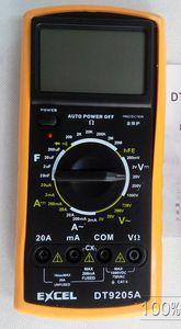 Multimetro digitale LCD AC DC Ohm VOLT Meter