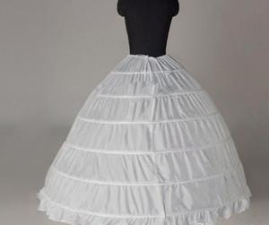 패션 Underskirt 결혼식 후행 Petticoats 1 레이어 신부 액세서리 볼 가운 Quinceanera 드레스 볼 가운에 대 한 신부 액세서리