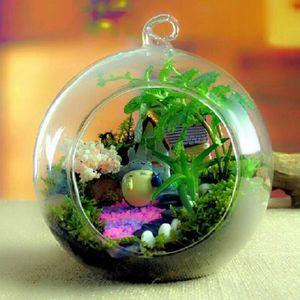 Vasos de porcelana de flor vaso de flor vasos de vidro de suspensão Tipos de cristal vaso de flor plantador Terrário Container vaso de porcelana