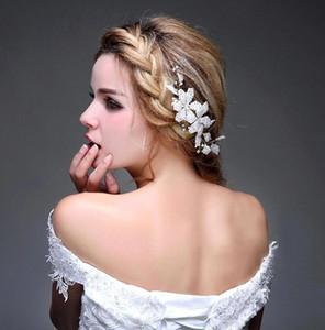 Tiara nuziale vintage Tiara Wedding Jewellery Boemia Accessori per capelli Eleganti copricapo Frontlet Fascia per capelli fasce per Sposa CPA476