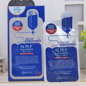 NMF masque de soie NMF aquaring masque d'ampoule Corée Clinie masque d'injection (réservoir NMF hydratant), 10pcs / lot, livraison gratuite
