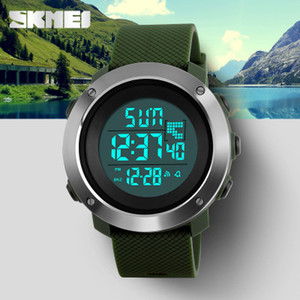 Skmei Men's Fashion Sport Watches Uomo Digital LED Electronic Clock Uomo Military Watch impermeabile da donna Relogio Masculino