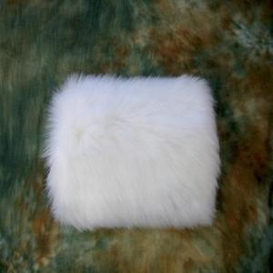 Venda quente barato do inverno branco Faux Fur casamento luvas quente útil para resistir a frio Nupcial Muff acessórios perfeitamente combinados com o seu casamento