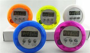 Wholesale Freies Verschiffen durch DHL! ! 400 stücke Bunte Digitale Lcd Timer Stoppuhr Küche Kochen Countdown Uhr (DY)