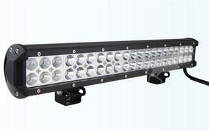 Led ışık çubuğu 126 W 20 inç cree led İş işık bar Spot Combo ışın kamyon jeep Araba için led ışık çubuğu yüksek güç offroad