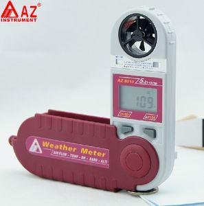 Mini anémomètre Vitesse du vent Temp. Testeur de pression atmosphérique barométrique d'altitude de point de rosée d'humidité de Windchill 8910