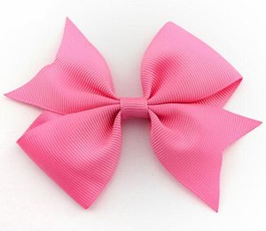 ruban de gros-grain de haute qualité pour les arcs de cheveux, accessoires de cheveux pour enfants, bébé hairbows fille arcs de cheveux AVEC CLIP