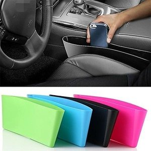 2017 Car Seat Gap Storage Box Car Styling Car Seat Pocket Catcher Organizer Store per Auto Seat Spedizione gratuita