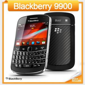 الأصلي الهاتف المحمول 9900 بلاك بيري جلطتين 9900 مقفلة الهاتف الذكي الجيل الثالث 3G واي فاي GPS 5.0MP كاميرا تجديد