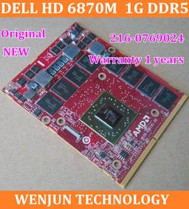 FreeShipping Orijinal DELL ATI HD 6870 M HD6870 Grafik 1G DDR5 M15X M17X M18X R2 dizüstü için 216-0769024 GARANTİ 1 yıl sipariş $ 18no